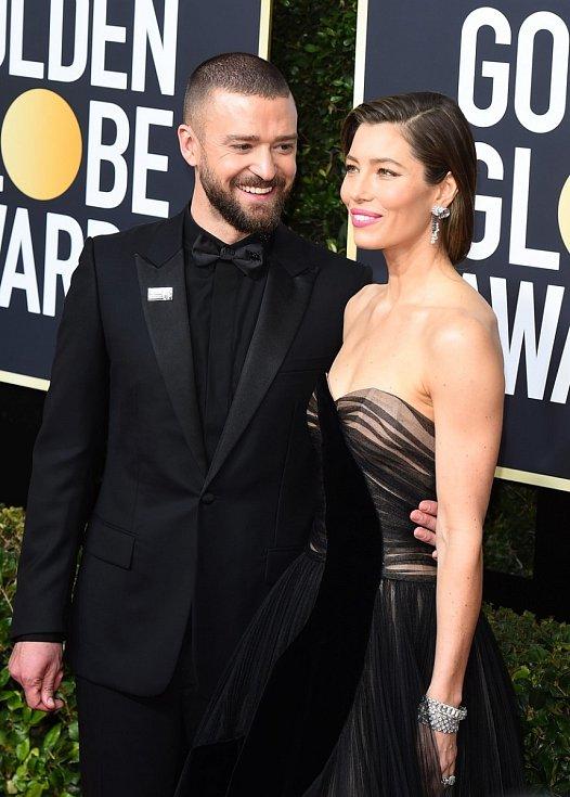 Jessica Biel s manželem Justinem Timberlakem