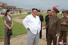 Vůdce KLDR Kim Čong-un.