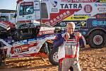Josef Macháček na Rallye Dakar