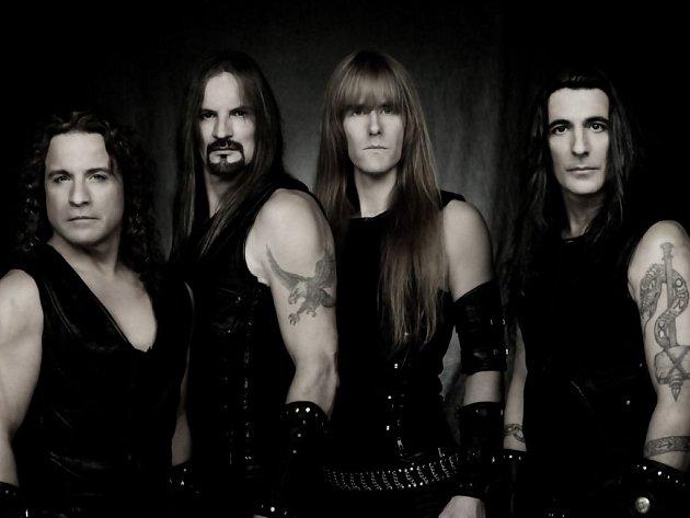 Legendární američtí metalisté Manowar, nejhlasitější kapela na světě.