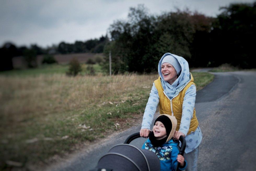 Každý den vyrážíme na procházky do okolí, říká Andrea Růžičková.
