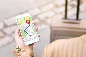 Mobilní navigace - Ilustrační foto