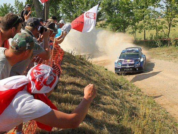 Polskou rallye ovládl Sébastien Ogier (na snímku)