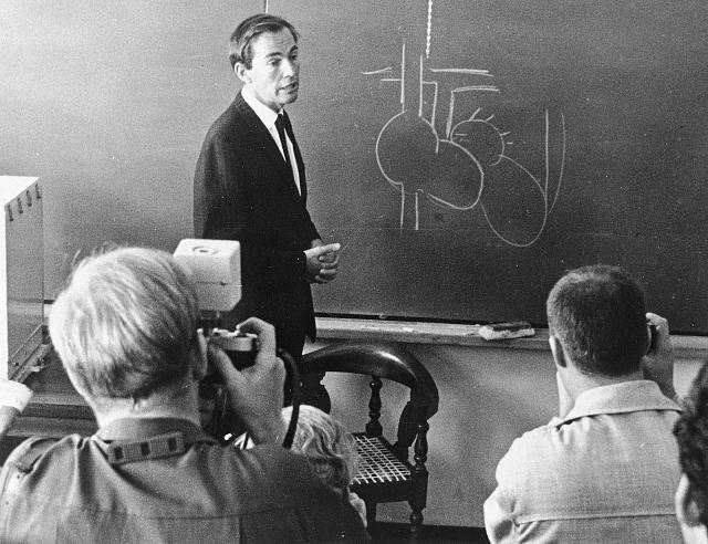 Přednáška Christiaana Barnarda