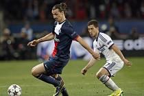 PSG - Chelsea: Zlatan Ibrahimovic se neprosadil a pak se ještě zranil
