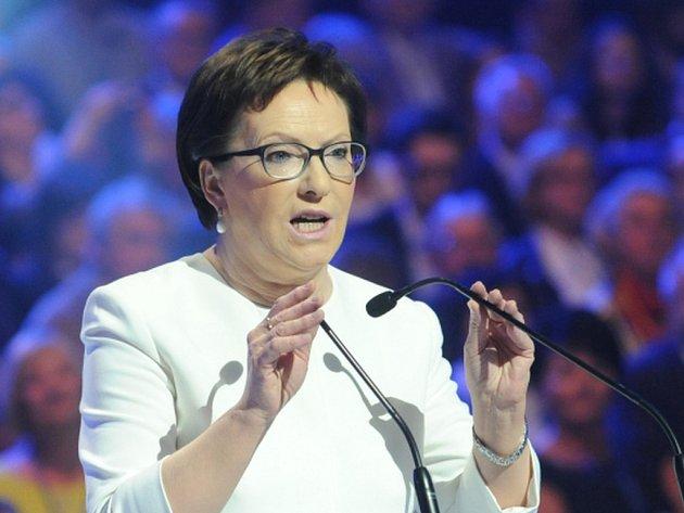 Polská premiérka Ewa Kopaczová dnes na hospodářském fóru opět naznačila ochotu k přijetí většího počtu uprchlíků, ale stejně jako dosud neuvedla žádný počet.