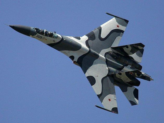 Ruský bojový letoun.