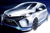 Koncept Toyota Yaris Hybrid-R.