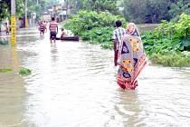Záplavy v jižní Asii už mají více než 400 obětí. Ilustrační foto