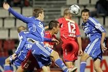Moravské derby mezi Olomoucí a Brnem skončilo remízou 1:1.