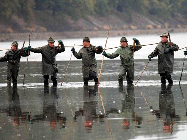 Během tří dnů kdy bude probíhat výlov největšího českého Rožmberk,u Tře¬boně,chtějí rybáři vylovit asi 1200 metráků ryb, převážně kaprů,očekávají se tisíce lidí pro něž je připraven program.