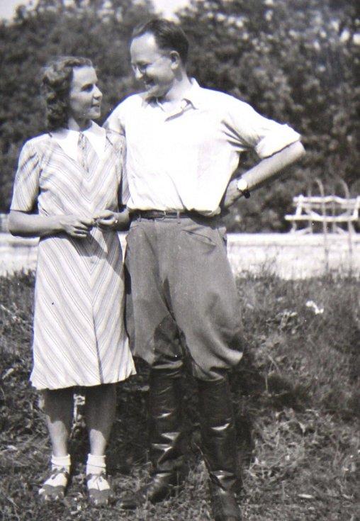 Aleš Kaprál s manželkou Zdenou