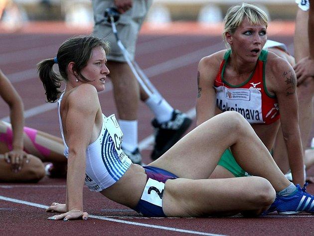 Sedmibojařka Kateřina Cachová získala na ME atletů do 23 let stříbro.