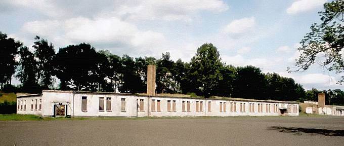 Baráky v táboře Ravensbrück