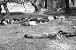 Postřílení vesničané z Kondomari