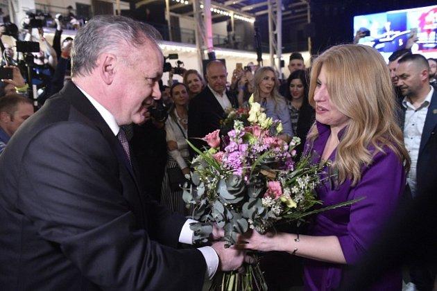 Historicky první ženě včele Slovenska poblahopřál isoučasný prezident Andrej Kiska.