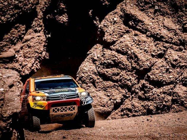 Martin Prokop v deváté etapě Rallye Dakar.