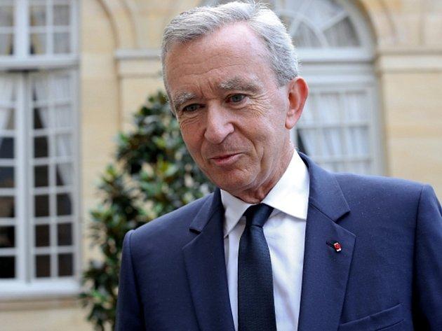 Nejbohatší Evropan Bernard Arnault, vlastník koncernu zaměřeného na výrobu luxusního zboží LVMH.