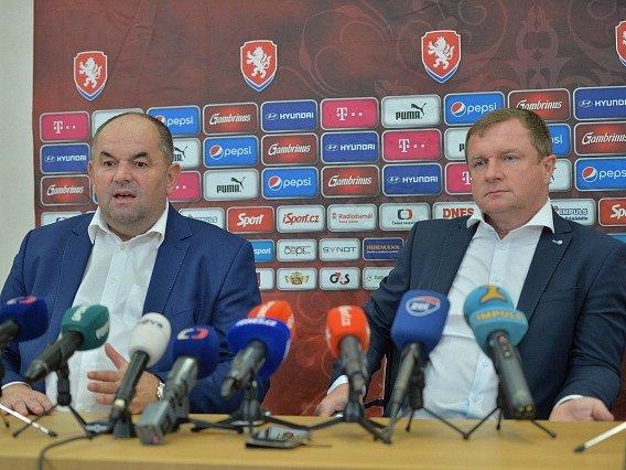 Miroslav Pelta a Pavel Vrba.