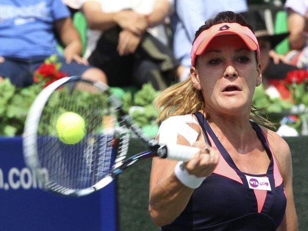 Agnieszka Radwaňská na turnaji v Soulu.