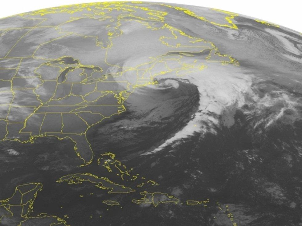 Od meteorologů bouře dostala název Nemo.