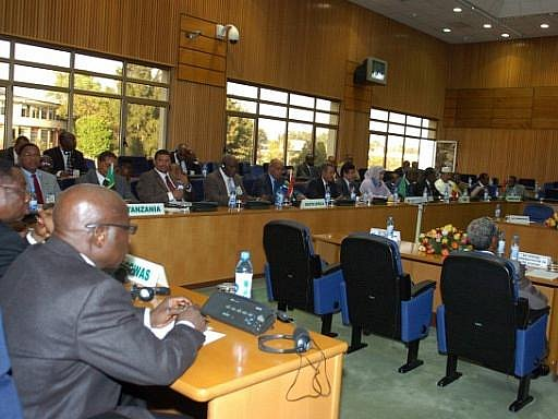 Zasedání Africké unie v etiopské metropoli