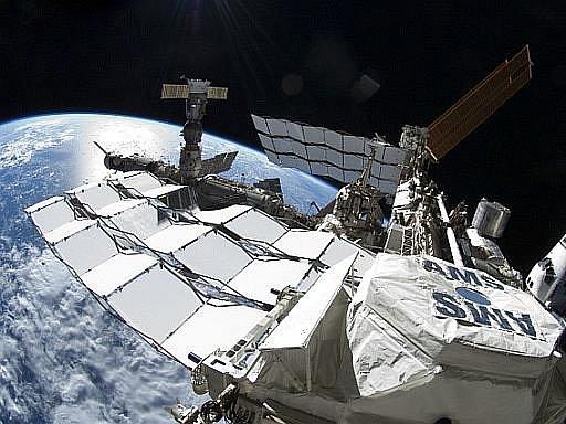 Mezinárodní vesmírná stanice. Ilustrační foto