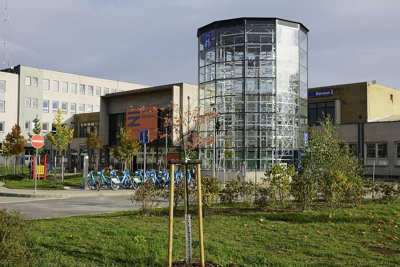 Cyklověž v Berouně je před otevřením. Foto: Radek Kaša