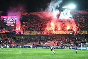10. kolo Fortuna ligy - Sparta Praha vs. Slavia Praha