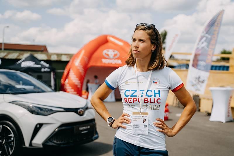 Eva Samková na Olympijském festivalu