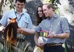 Princ William s manželkou Kate.
