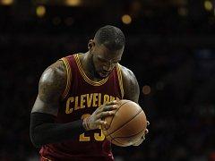 LeBron James, největší hvězda Clevelandu Cavaliers.