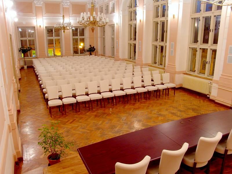 Gymnázium v Příboře - aula