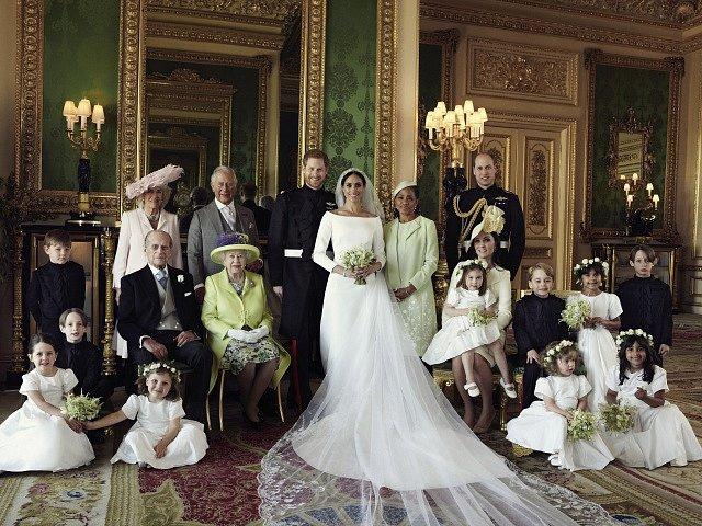 Svatba britského prince Harryho a jeho ženy Meghan