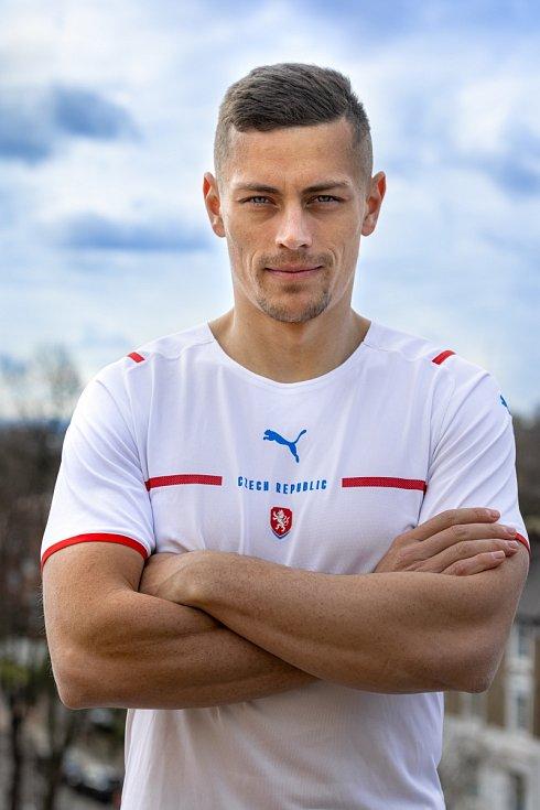 Štěpán Holeš v novém reprezentačním dresu