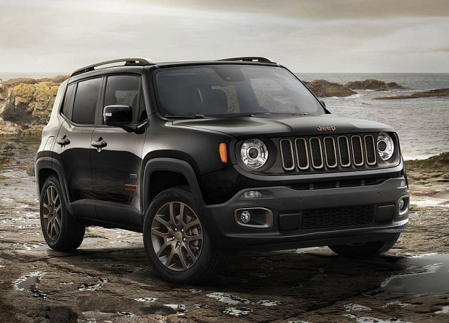 Jeep Renegade 75th Anniversary.