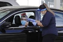 Testování na koronavirus v USA
