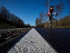 Na projektech tras vyhrazených jízdním kolům pracují i Frankfurt nad Mohanem, Mnichov či Norimberk. Ilustrační foto.
