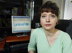 Výkonná ředitelka české pobočky UNICEF Pavla Gomba