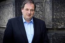 Předseda Odborového svazu železničářů Jaroslav Pejša.