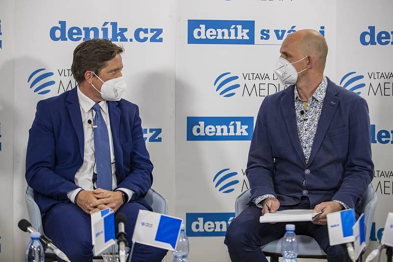 On-line debata Deníku na téma Nebezpečné silnice v Česku. Radek Mátl, Martin Pleva
