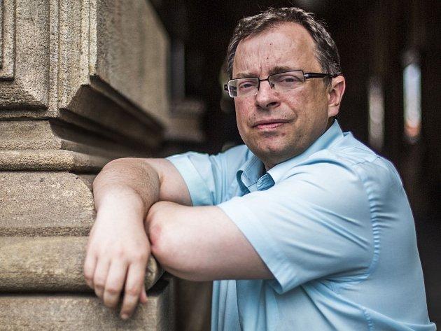 Historik Jaroslav Šebek.