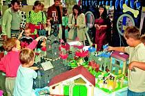 Veletrh hraček představuje pro děti učiněný ráj.