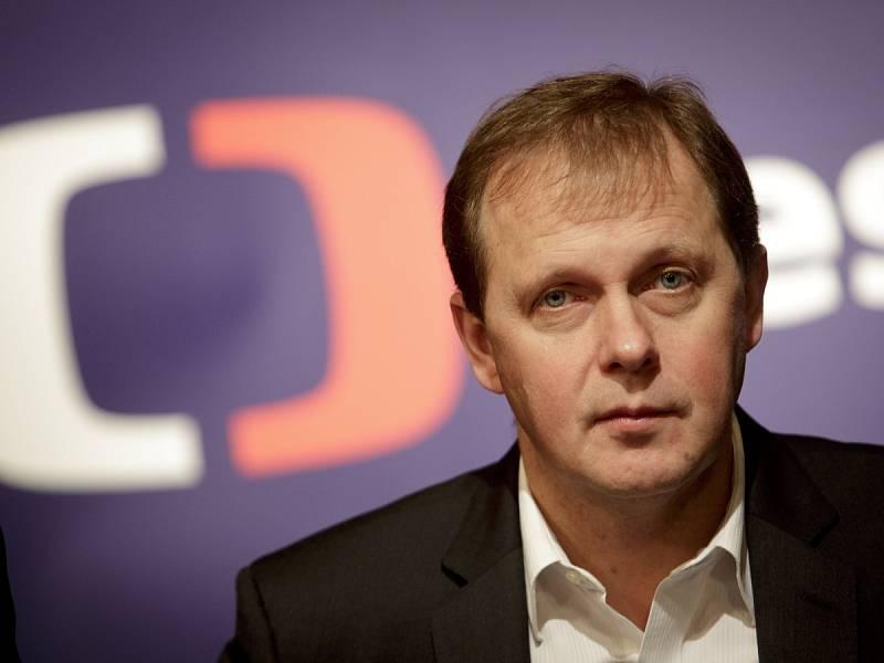 Generální ředitel České televize Petr Dvořák.