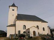 kostel sv. Michaela Archanděla v Rusíně-Hrozové