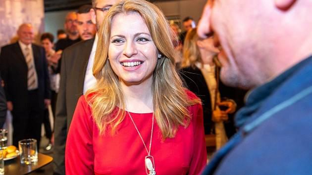 Slovenské prezidentské volby: vítězka prvního kola Zuzana Čaputová