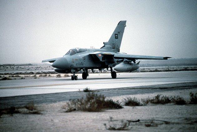 Letoun Tornado F3 ve výzbroji Saúdské Arábie