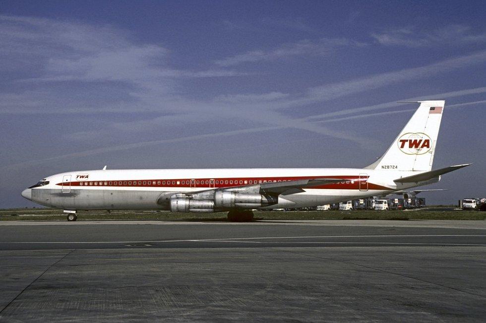TWA Boeing 707-331B