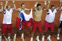 Zažijou čeští tenisté obdobnou radost i po finále Davis Cupu?