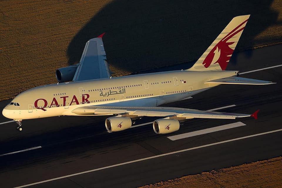 Airbus A380 společnosti Qatar Airways